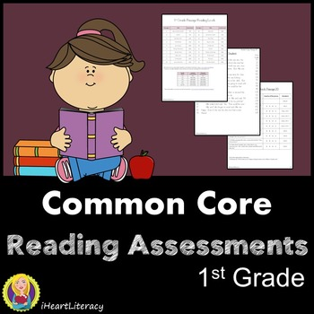 Reading Comprehension Passages - 1st Grade Common Core Aligned