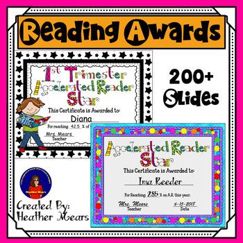 Reading Awards
