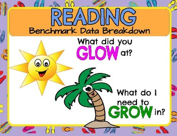 Reading  Benchmark Data Breakdown Digital and Printable Ve