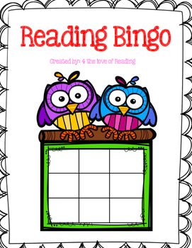 Reading Bingo with Rubrics