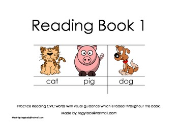 Reading Book 1 (Autism, Special Needs, Early Years)