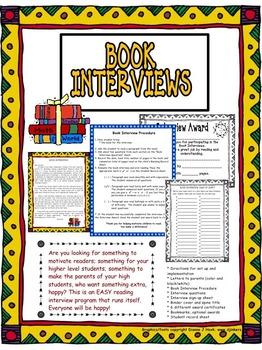 Reading: Book Interview Program