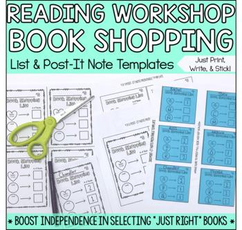 Reading Book Shopping List