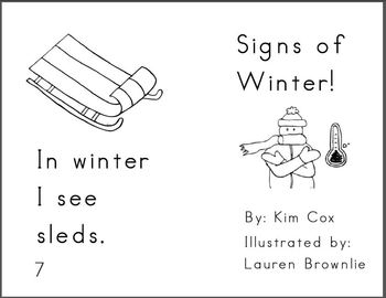 Reading Book: Signs of Winter