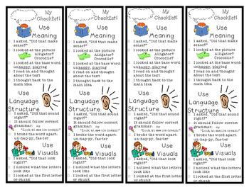 Reading Bookmark & Checklist - MSV