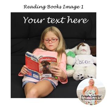 Reading Books Image 1