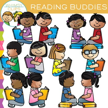 Reading Buddies Clip Art