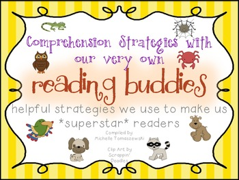 Reading Buddies {Comprehension Strategies with our Animal