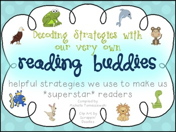 Reading Buddies {Decoding Strategies with our Animal Friends}