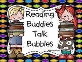 Reading Buddies Talk Bubbles