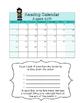 Reading Calendars 2016-2017