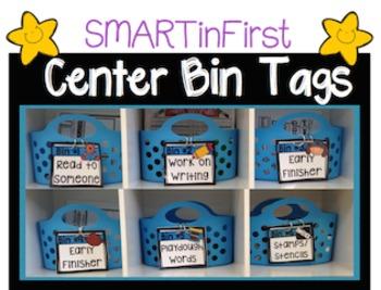 Reading Center Bin Labels