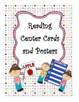 Reading Center Cards and Posters