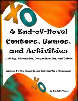 Reading Centers: Writing, Discussion, Comprehension, &Triv