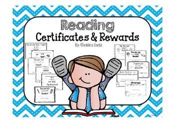 Reading Certificates & Rewards