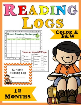 Reading Log- 12 Months