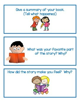 Reading Questions: Independent or Center Activity Interact