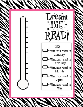 Reading Challenge Thermometer