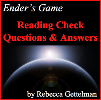 Reading Check Quizzes for Orson Scott Card's Ender's Game