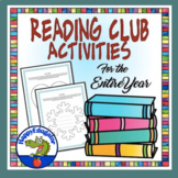 Reading Club or Book Club Activities for the Entire School Year