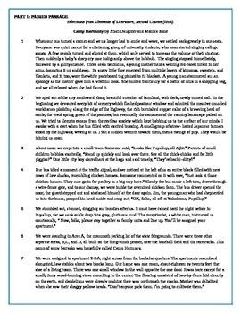 Reading Common Assessment