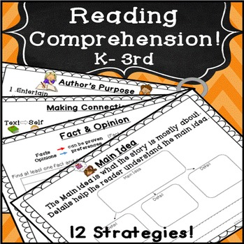 Reading Comprehension Activities & Graphic Organizers for