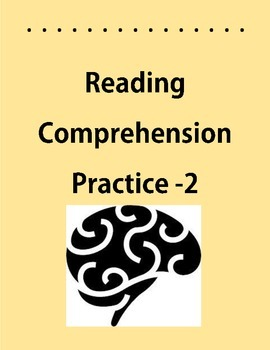 Reading Comprehension #2 Main Idea,Inferencing,Word Mean,C