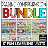 Reading Comprehension Activities and Crafts GROWING BUNDLE