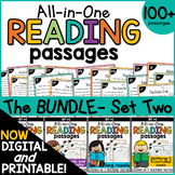 Reading Comprehension All-in-One Bundle SET TWO {Growing}