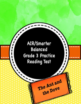 Grade 3 CCSS Reading Test Practice