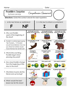 Reading Comprehension Assessment [High Level Questions] FR