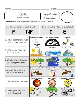 Reading Comprehension Quiz [High Level Questions] (NONFict