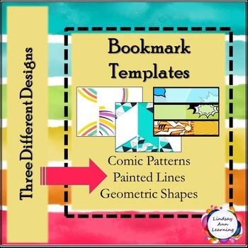 Reading Bookmark Templates