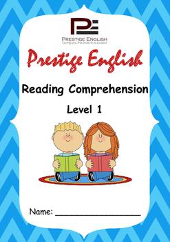 Reading Comprehension Book - Level 1