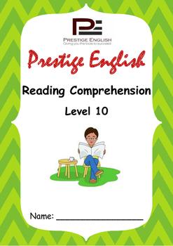 Reading Comprehension Book - Level 10