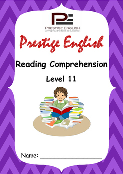 Reading Comprehension Book - Level 11