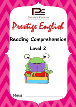 Reading Comprehension Book - Level 2