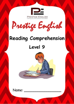 Reading Comprehension Book - Level 9