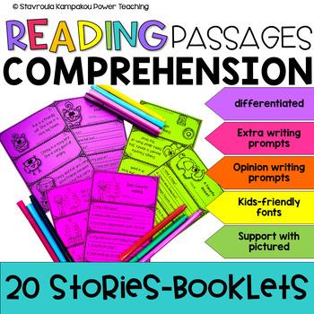 Reading Comprehension Booklets NO PREP