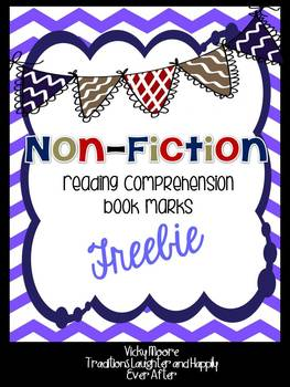 Reading Comprehension Bookmark { Non-Fiction Text }