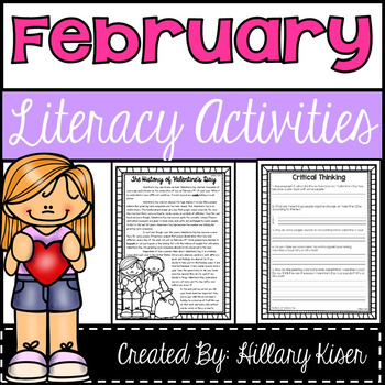Reading Comprehension Bundle (February)
