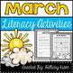 Reading Comprehension Bundle (March)