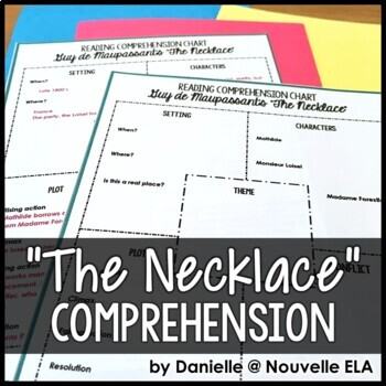 Reading Comprehension Chart - The Necklace