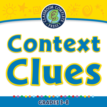 Reading Comprehension: Context Clues - NOTEBOOK Gr. 3-8