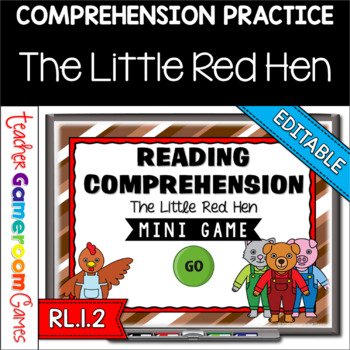 Reading Comprehension - Fairy Tales -The Little Red Hen Po
