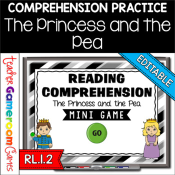 Reading Comprehension - Fairy Tales - The Princess and the
