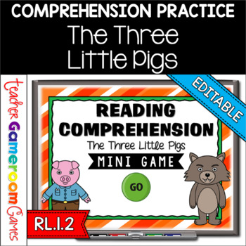 Reading Comprehension - Fairy Tales - The Three Little Pig