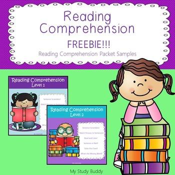 Reading Comprehension Freebie!!!