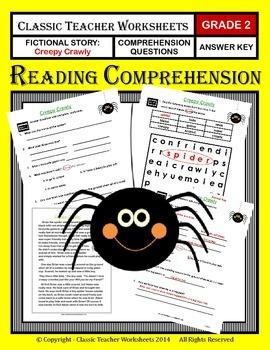 Reading Comprehension - Grade 2 (2nd Grade) - Fictional St