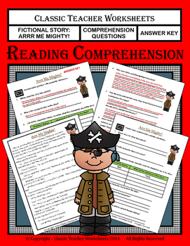 Reading Comprehension - Grade 3 (3rd Grade) - Fictional St